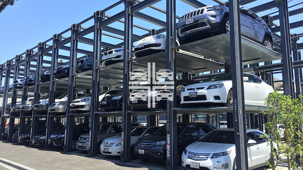 Parkplus Mechanical Parking Products For Basic Stacking