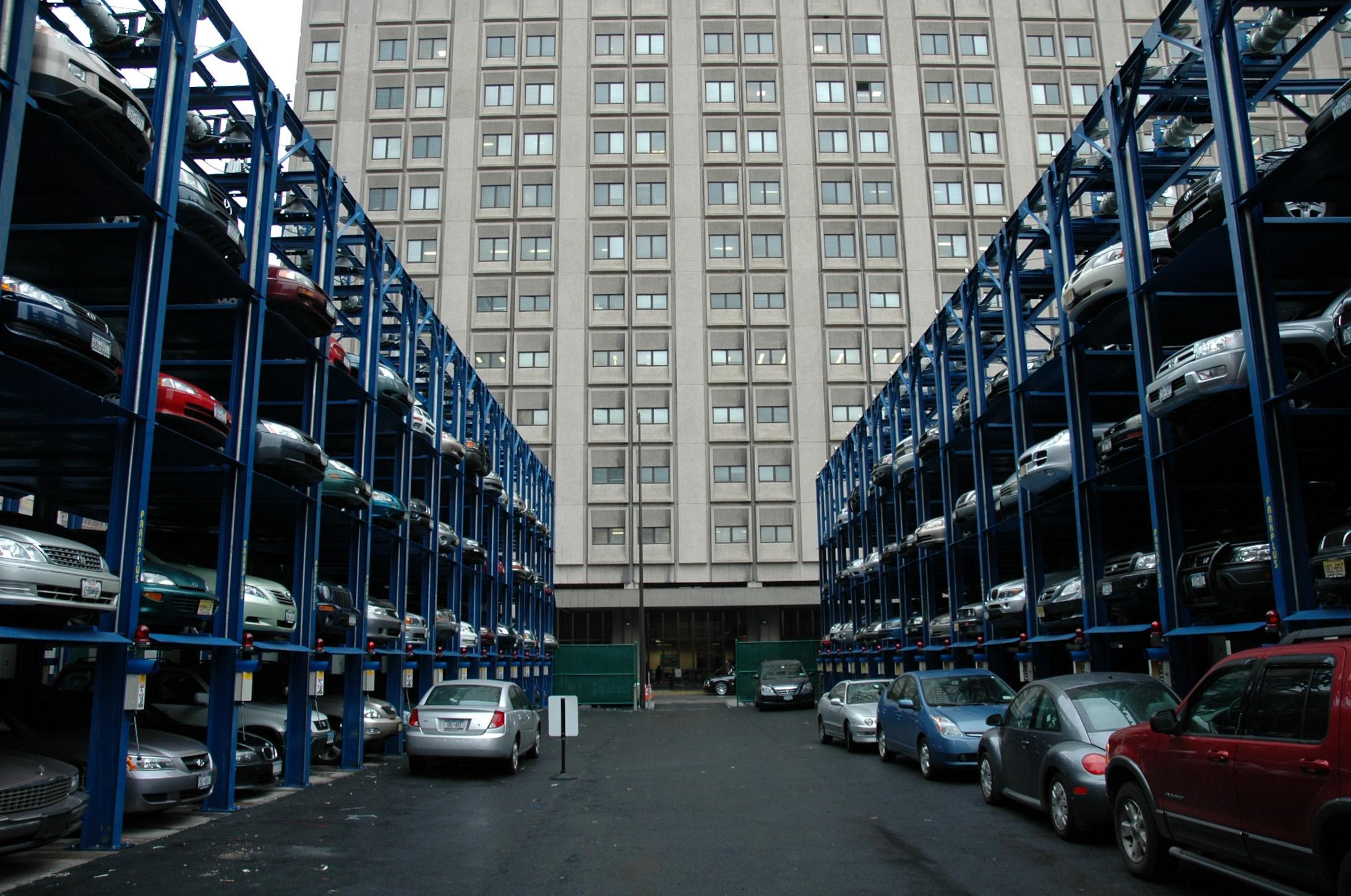Quad Stackers Bellevue Hospital NY