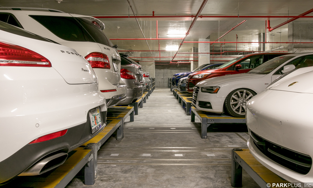 AGV Automated Parking Storage