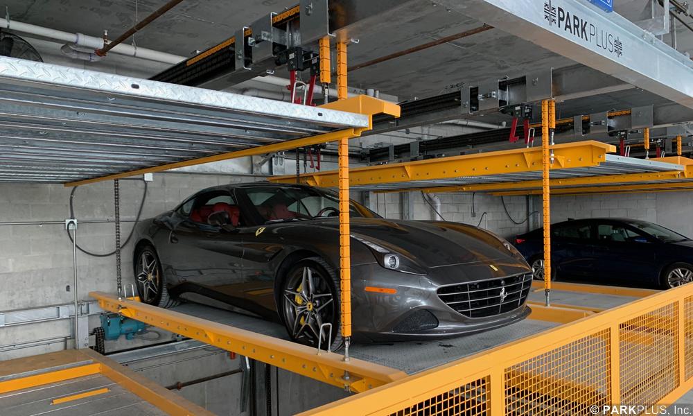 PARKPLUS Lift-Slide Puzzle Parking System