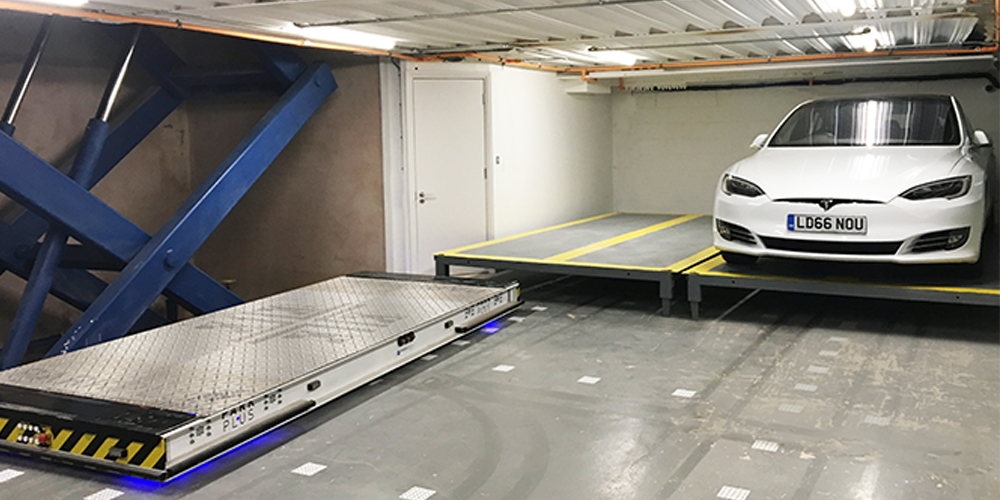Notting Hill, London Automated Parking System – PARKPLUS