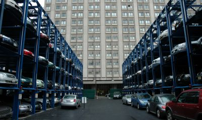 Quad Stackers Bellevue Hospital NY