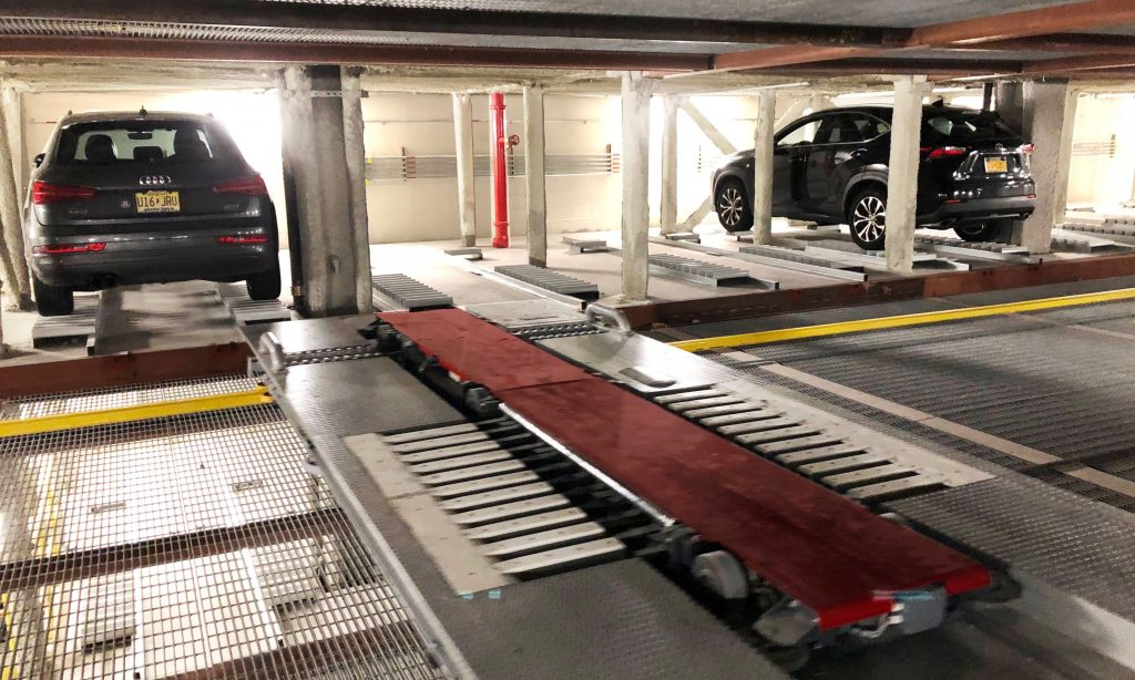 PARKPLUS Fully Automated Rack & Rail Parking System