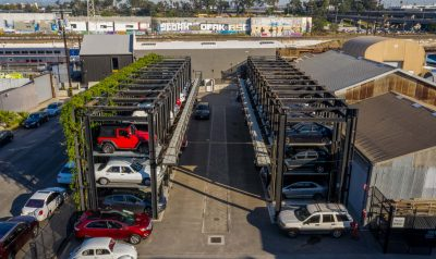 Stacked Parking Stacker Car Lifts
