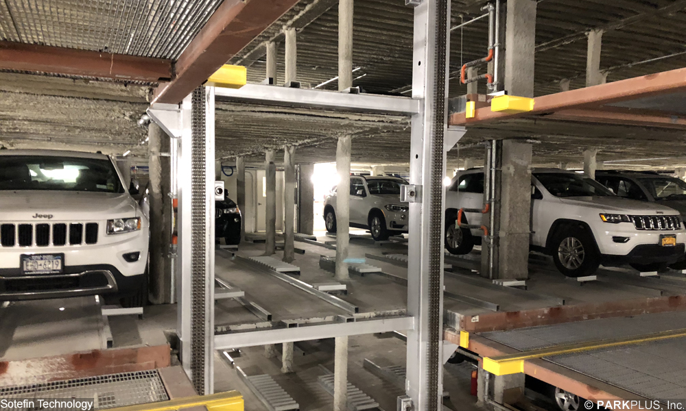 PARKPLUS Rack & Rail Automated Parking Storage Vault