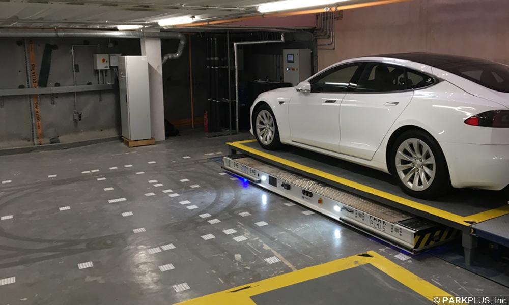 PARKPLUS Automated Robotic Parking Electric Vehicle