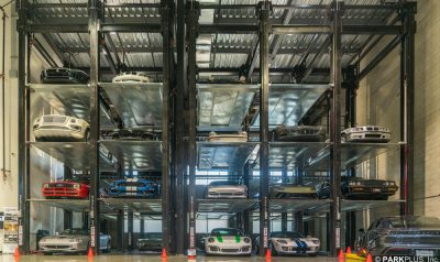 PARKPLUS Quad Car Stacker Parking Lifts