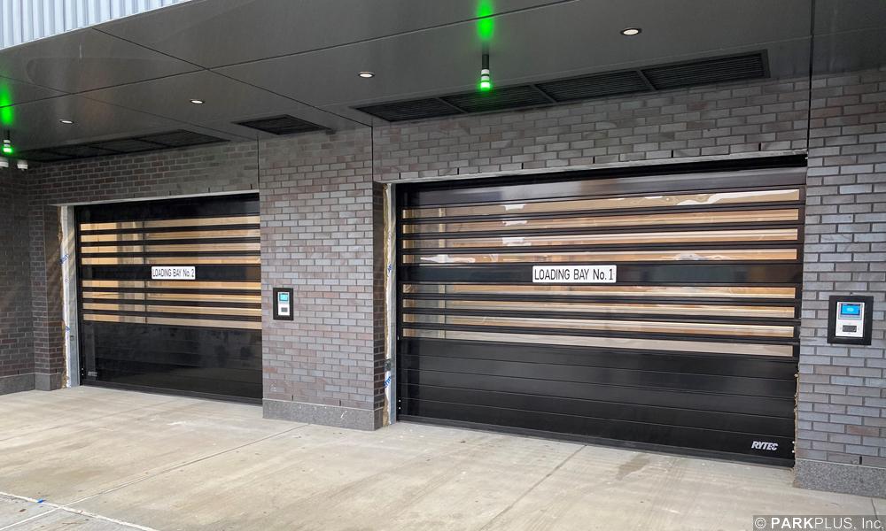 Automated Parking Loading Bay entrance Boston